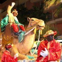 Noche de Reyes, noche de pizza en Aguadulce – Horarios de cabalgatas